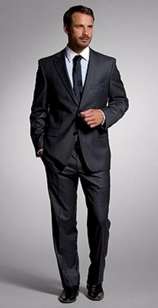 0d2ed658dd09d Traje Formal Hombre Vestido Boss