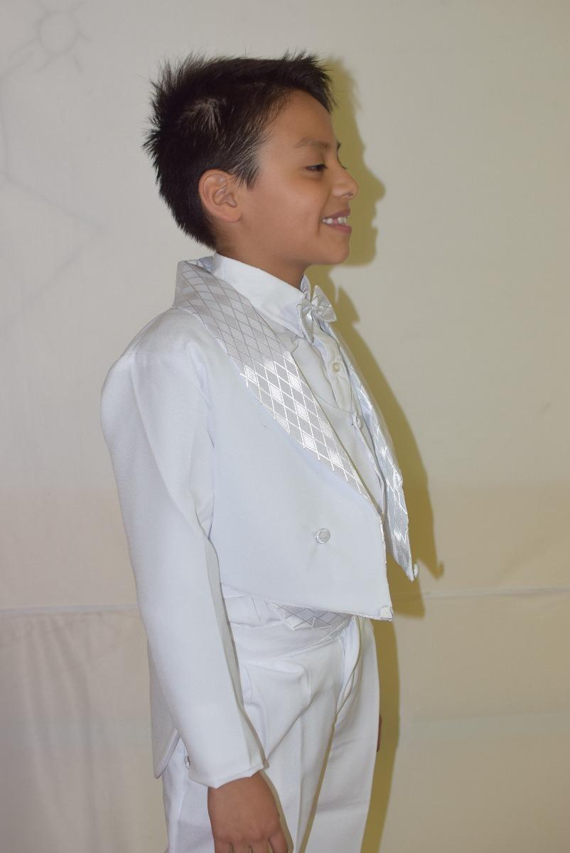 Vestido blanco y negro para bautizo