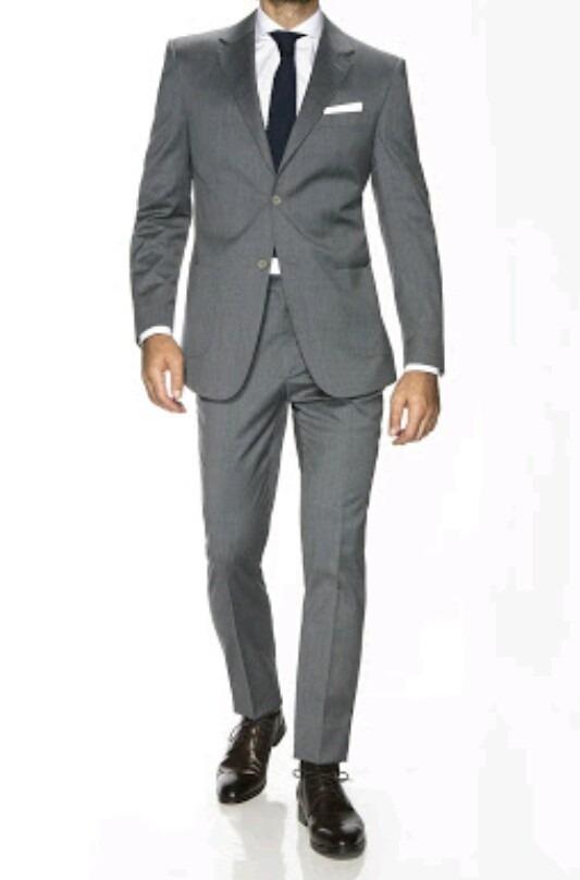 2542f583ff43e traje gris slim fit. Cargando zoom.