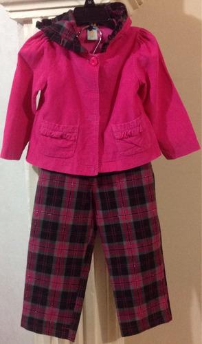 traje hermoso pana saco / pantalón bebe niña fashion