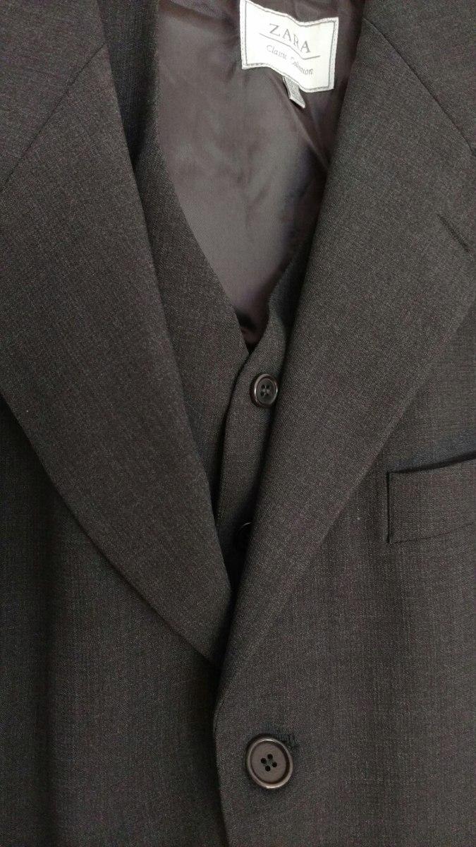 Chaleco Hombre Zara Y Tres Pantalon 800 Piezas Blazer Traje 00 1 OFXcqdFW f7d842fd770
