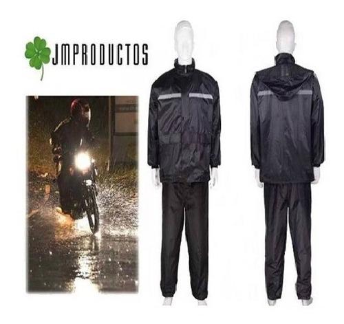 traje impermeable para moto reflectante para agua y viento