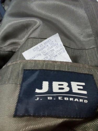 traje j. b. ebrard talla 40 l