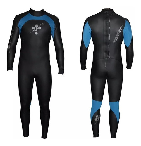 traje largo de neoprene de triatlon 4/2.5/1.5mm thermoskin°