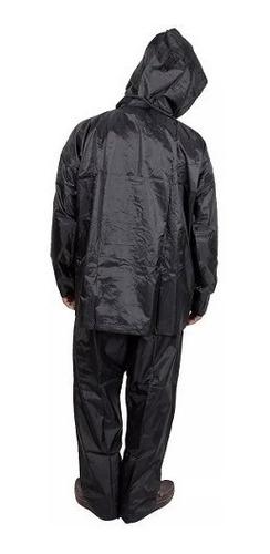 traje lluvia moto