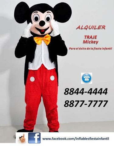 traje mickey minnie peppa elsa personajes