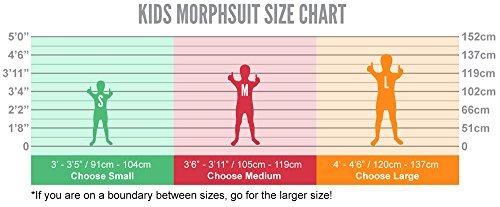 traje morphsuit tuxedo kids - tamano mediano 3 x26 39 6-3 x2