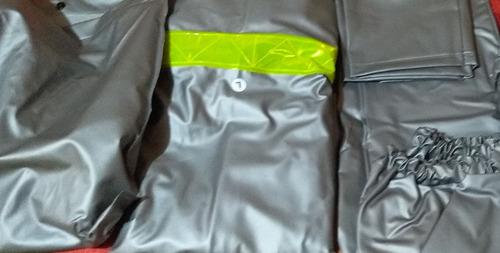 traje motociclista impermeable 4 piezas,promoción oferta