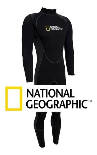 traje neoprene largo 2mm national geografic