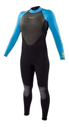 traje neoprene largo 3/2 body glove pro 3 hombre mujer + cuo
