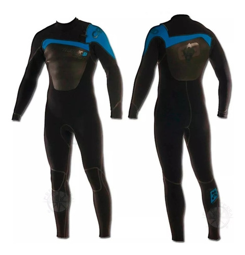 traje neoprene thermoskin creed 4.3 front zip sellado local°
