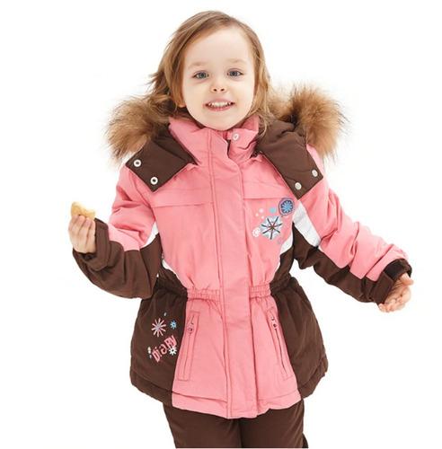 traje nieve chaqueta pantalon niña / matuteo