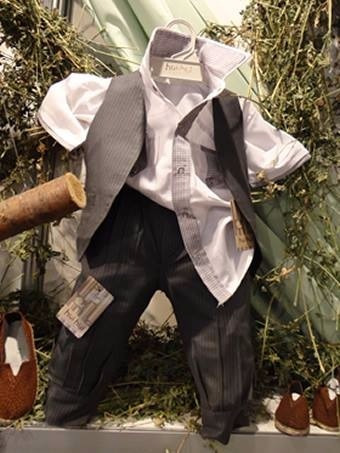 traje niño fiesta bautismo cortejo pantalon d vestir chaleco