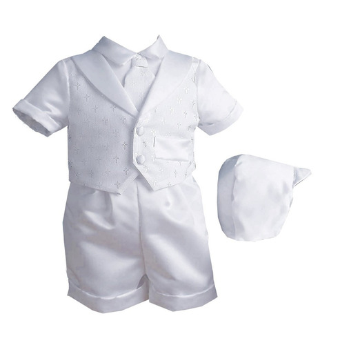traje niño infantil bautizo blanco ropa bebé 6 a 9 meses