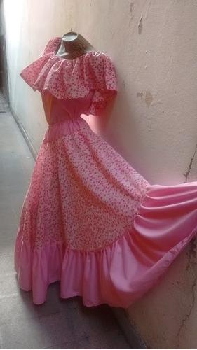 traje paisana dama pollera plato, blusa danzas folkloricas