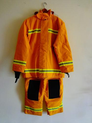 traje para bomberos pantalón y chaquetón  en469
