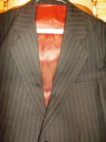 traje para caballero, casimir ingles.talla plus