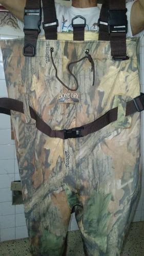 traje para caza y pesca impermiable nuevo