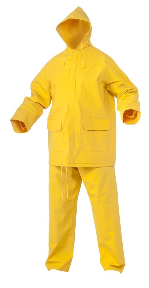 traje para lluvia de pvc con reflectivo pantalon y chaqueta. Cargando zoom. 301ab3493f8