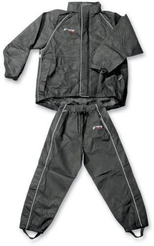 traje para lluvia frogg toggs cruisin para hombre negro sm