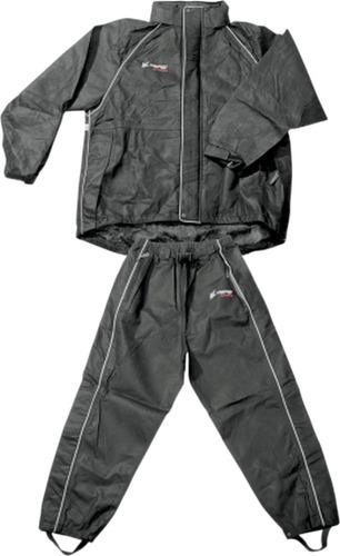 traje para lluvia frogg toggs cruisin para mujer negro xl
