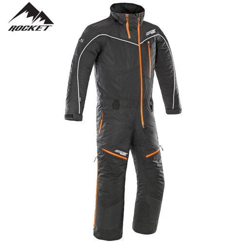 traje para nieve rocket titan 1-pieza negro lg