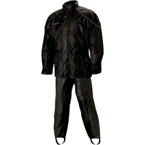 traje p/lluvia nelson-rigg as-3000 aston 2 piezas negro xl
