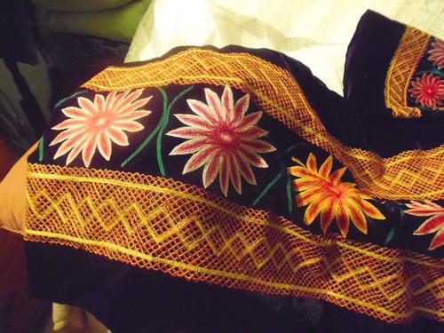 traje regional de oaxaca terciopelo