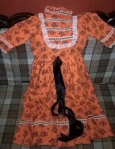 traje regional para niña