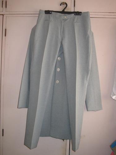 traje sastre de mujer - largo 7/8 - excelente!!!!!!!!!!!!!!