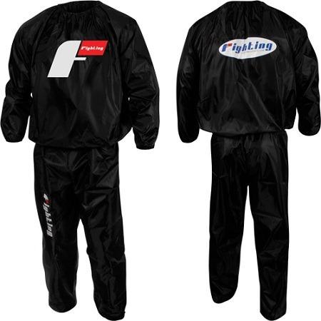 traje sauna marca fighting sports hecho en nylon fn4