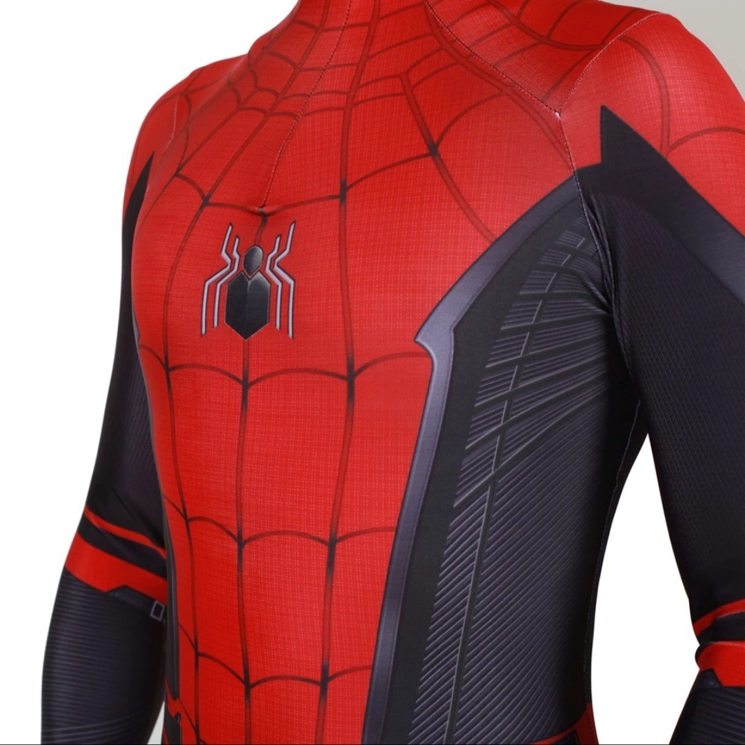 Traje Spiderman Lejos De Casa Far From Home Disfraz Marvel