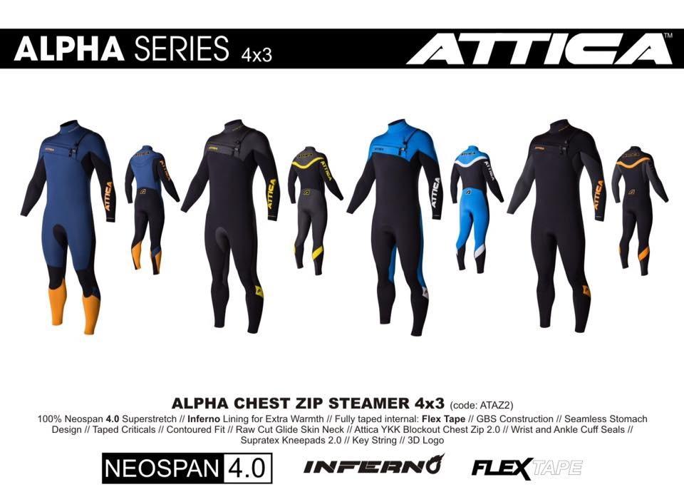 Traje Surf Attica Alpha 4 3 Mm Ng Am   Envio Gratis -   192.400 en ... ce1a3baea69
