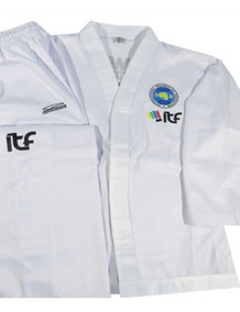 Traje Uniforme Dobok Taekwondo Granmarc Homologado Logo Itf