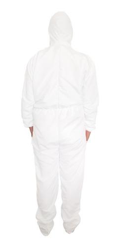 traje unisex de proteccion aislamiento antifluidos lavable