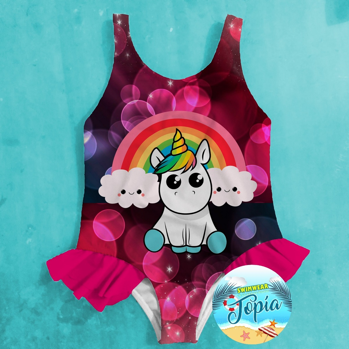 919d80411d traje vestido de baño de niña lol surprise minnie unicornio. Cargando zoom.