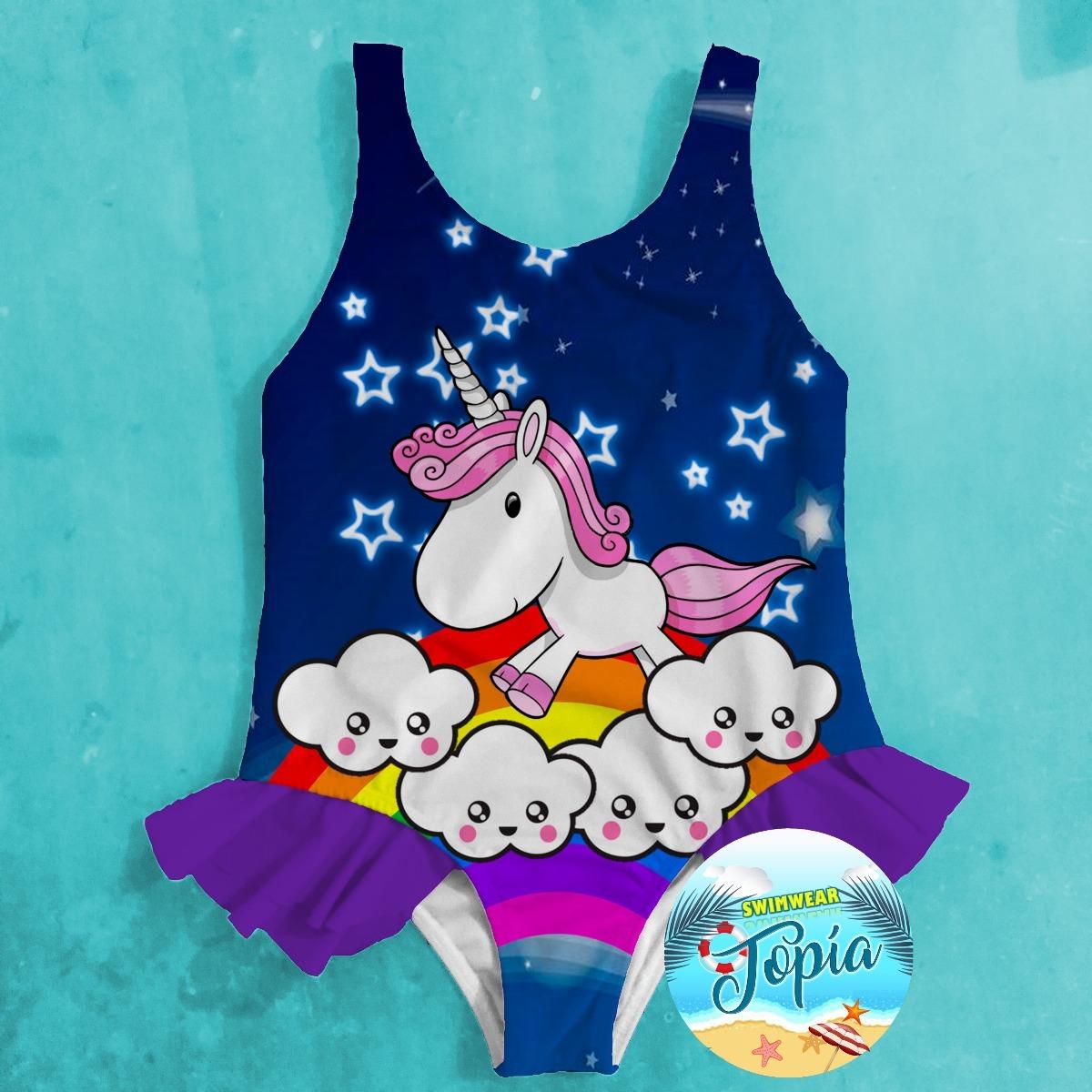 fde3fb18d7 traje vestido de baño de niña unicornio lol surprise moana. Cargando zoom.