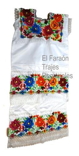 traje vestido yucatán - yucateca dama