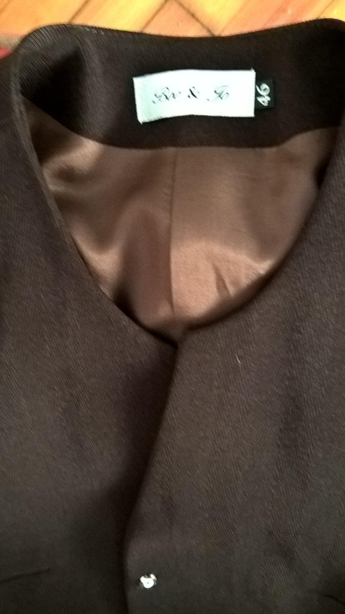 traje vestir mujer marron gabardina. Cargando zoom. 8c5801a68e2b