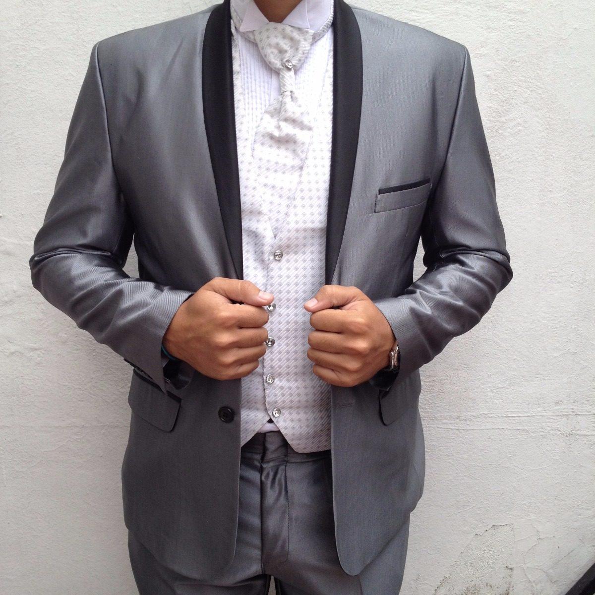 c1900b440 Traje Y Camisa Pechera 40 Tuxedo Boda Graduacion C Envio ...