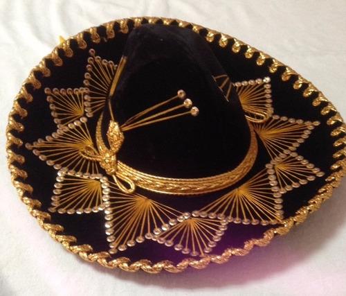 traje y sombreros de charro mexicano para niño o niña