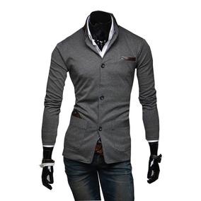 cdeb08261d9a2 Sacos Juveniles Hombre Slim Fit Moda Casual Blazer Informal