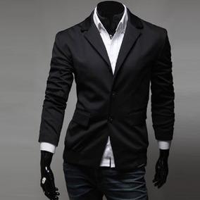 de50f659fb6f8 Saco Blazer Hombre Casual Moda Juvenil Slim Fit Hipster Cool