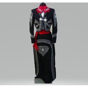 857d092535485 Traje De Mariachi Negro Para Mujer en Mercado Libre México