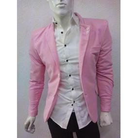 80600606f39f5 Saco Rosa Hombre Sacos - Trajes para Hombre en Mercado Libre México