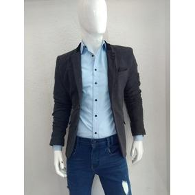 1ca8dfe5a9e76 Blazer Gris Hombre - Trajes para Hombre en Mercado Libre México