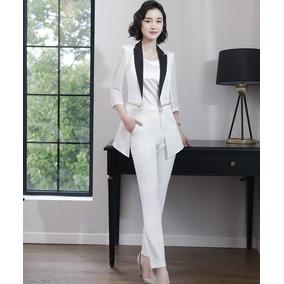 92aefb7f5957c Trajes Mujer Elegante Blazer + Blusa + Pantalón Moderno Sexy