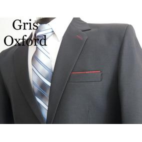 8734f7ea3babd Traje Caballero Gris Oxford Mara - Trajes para Hombre en Mercado ...
