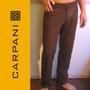 Pantalón De Hombre En Lino Natural Carpani, Semi-formal