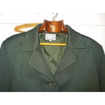 Traje Chaqueta-pantalon Verde Iingles Talle Grande 54